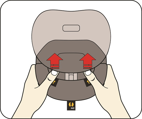 Neck-Relief M2 Adjusting 1