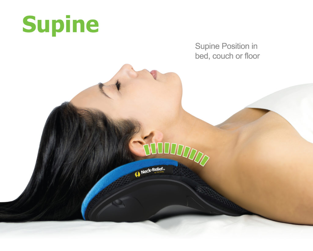 Cervipedic Neck-Relief M2 Supine position